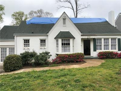 Decatur GA Single Family Home For Sale: $357,000