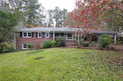Powder Springs Single Family Home For Sale: 4101 Red Oak Drive
