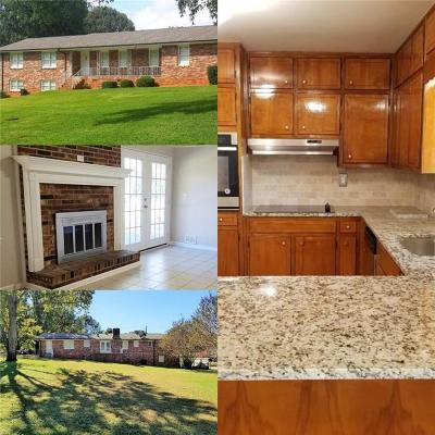 Conyers Single Family Home For Sale: 1482 Flat Shoals Road SE