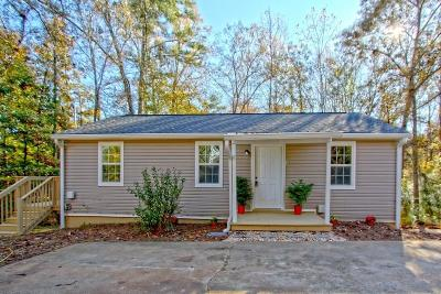 Gainesville Single Family Home For Sale: 2701 Old Dawsonville Road