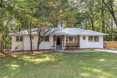 Fulton County Single Family Home For Sale: 3407 Parkview Drive