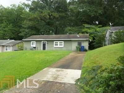 Atlanta Single Family Home For Sale: 2920 Springside Place SE