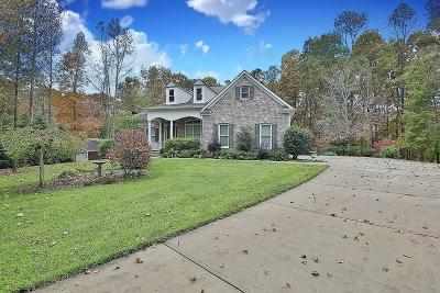 Dawsonville Single Family Home For Sale: 501 Crooked Tree Drive
