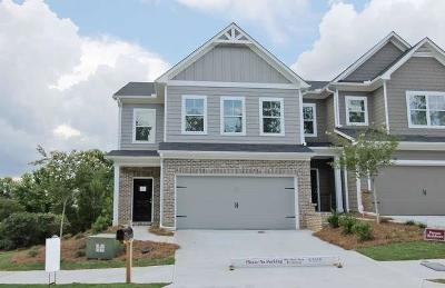 Atlanta Condo/Townhouse For Sale: 5438 Cascade Ridge SW