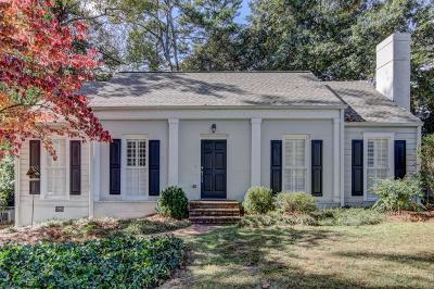 Fulton County Single Family Home For Sale: 1850 Greystone Road