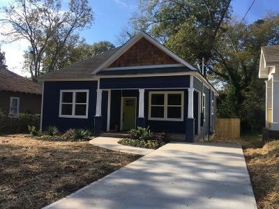Atlanta Single Family Home For Sale: 1719 Evans Drive SW