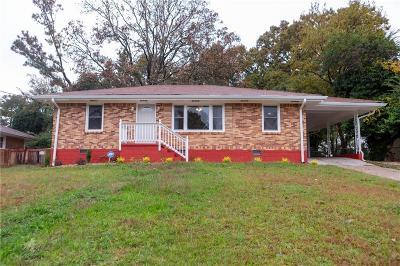 East Atlanta Single Family Home For Sale: 2142 Brannen Road SE