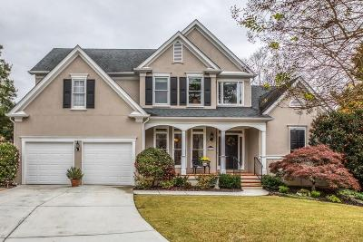 Dunwoody Single Family Home For Sale: 2390 Briarleigh Way