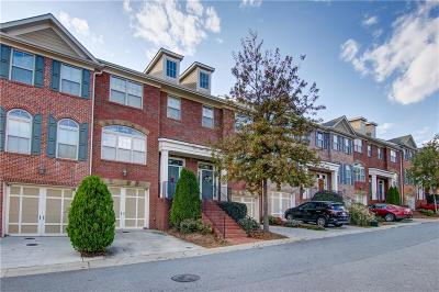 Alpharetta Condo/Townhouse For Sale: 10898 Gallier Street