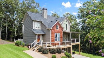 Cartersville Single Family Home For Sale: 21 Idlewood Drive NW