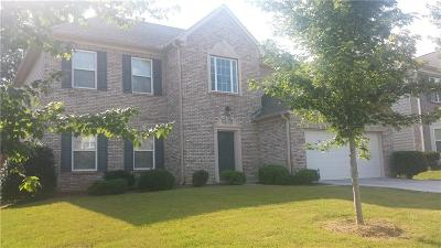 Lithonia Single Family Home For Sale: 7724 White Oak Loop