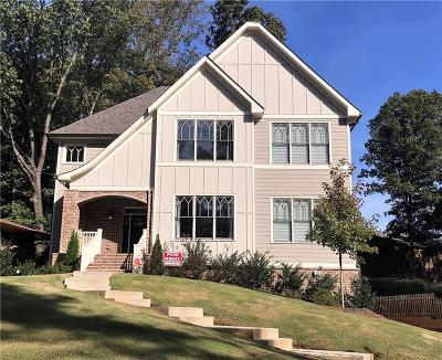 Atlanta Single Family Home For Sale: 1233 Vista Valley Drive NE