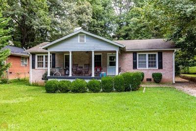 Atlanta GA Single Family Home For Sale: $120,000