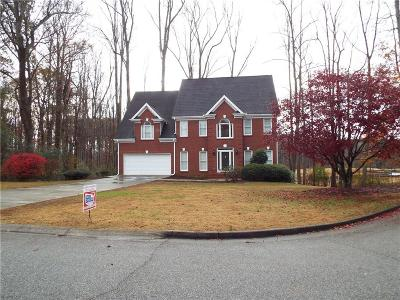 Canton GA Single Family Home For Sale: $349,900