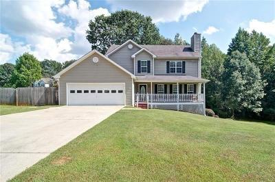 Canton GA Single Family Home For Sale: $259,000