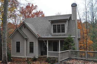 Big Canoe Single Family Home For Sale: 87 Hemlock Circle