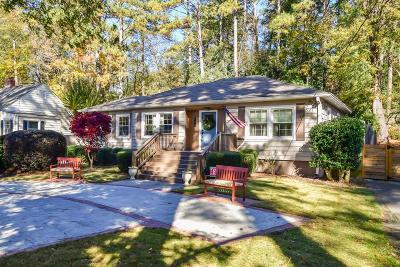 Atlanta Single Family Home For Sale: 996 Lindbergh Drive NE