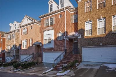 Smyrna Condo/Townhouse For Sale: 214 Aldridge Place