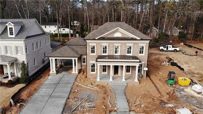Alpharetta GA Single Family Home For Sale: $1,675,000