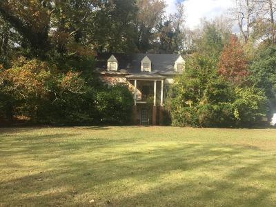 Brookhaven Single Family Home For Sale: 1120 Hampton Hall Drive