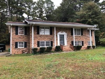 Lithonia Single Family Home For Sale: 1668 Stephenson Road