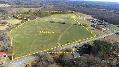 Canton Land/Farm For Sale: 00 East Cherokee Drive
