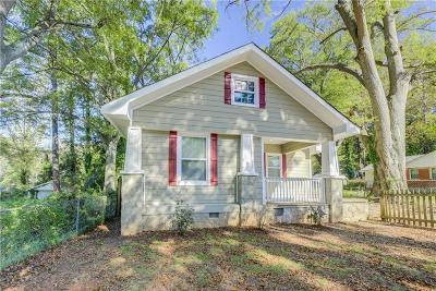 Atlanta Single Family Home For Sale: 1387 Avon Avenue SW