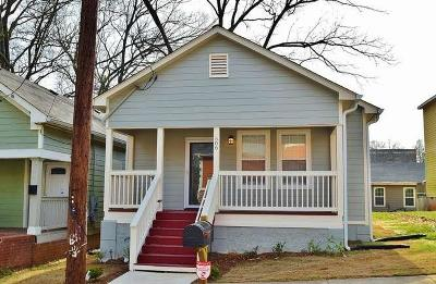 Atlanta Single Family Home For Sale: 506 Mary Street SW