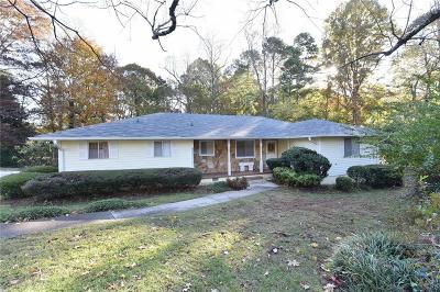 Berkeley Lake Single Family Home For Sale: 4165 S Berkeley Lake Road NW