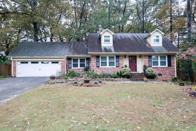 Tucker Single Family Home For Sale: 4023 Oak Crest Drive