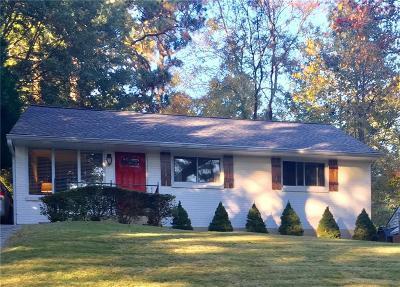 Atlanta Single Family Home For Sale: 1170 Ogilvie Drive NE