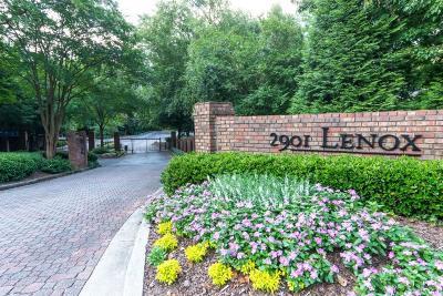 Atlanta Condo/Townhouse For Sale: 2901 Lenox Road NE #601