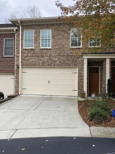 Brookhaven Condo/Townhouse For Sale: 1867 Preserve Way #52