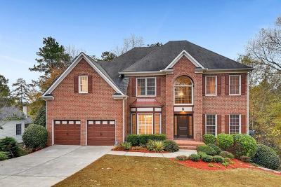 Smyrna Single Family Home For Sale: 4904 Chimney Oaks Drive SE