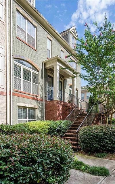 Atlanta Condo/Townhouse For Sale: 1736 Breyerton Drive NE #12