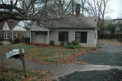 Virginia Highland Single Family Home For Sale: 760 Virginia Circle #B