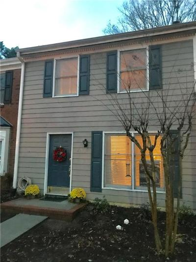 Roswell Condo/Townhouse For Sale: 129 Teal Court