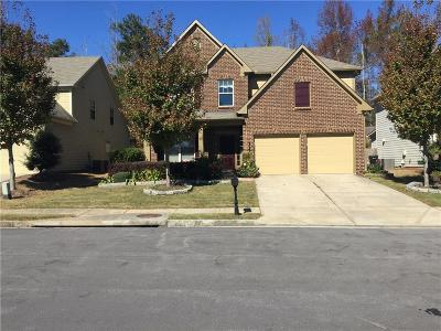 Buford Single Family Home For Sale: 3683 Fallen Oak Drive