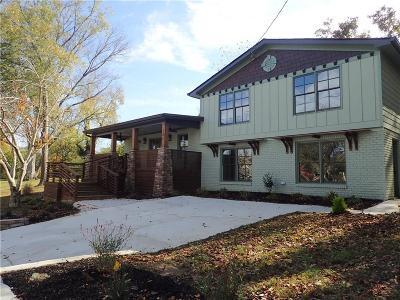 Marietta Single Family Home For Sale: 282 Montgomery Street NE