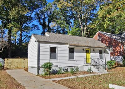 Atlanta GA Single Family Home For Sale: $419,000