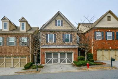 Johns Creek Condo/Townhouse For Sale: 11362 Gates Terrace