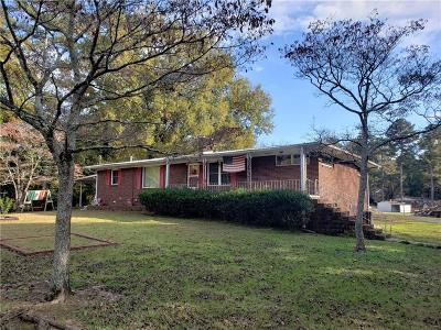 Calhoun Single Family Home For Sale: 208 David Lake Road NW