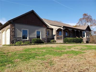 Dawsonville Single Family Home For Sale: 552 Biddys Lane