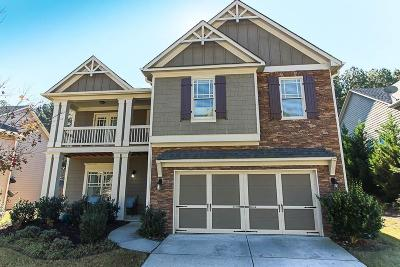 Acworth Single Family Home For Sale: 5209 Bowsprit Point