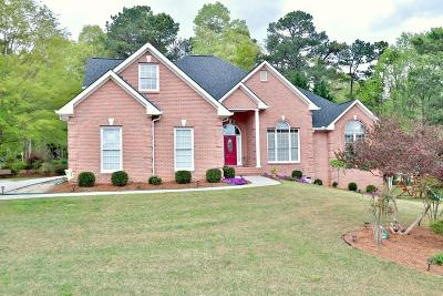 Lawrenceville Single Family Home For Sale: 220 Helens Manor Drive