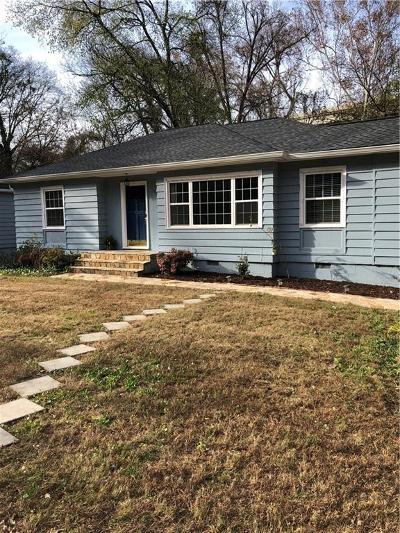Atlanta Single Family Home For Sale: 1008 Lindridge Drive NE