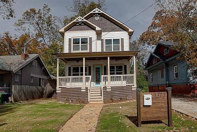 Atlanta GA Single Family Home For Sale: $489,000