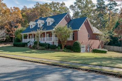 Lawrenceville Single Family Home For Sale: 255 Helens Manor