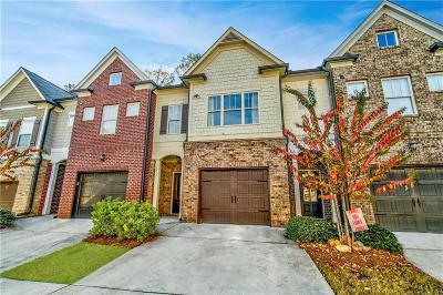 Brookhaven Condo/Townhouse For Sale: 2772 Archway Lane
