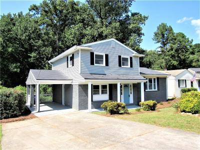 Atlanta Single Family Home For Sale: 890 NW Kings Grant Drive NW